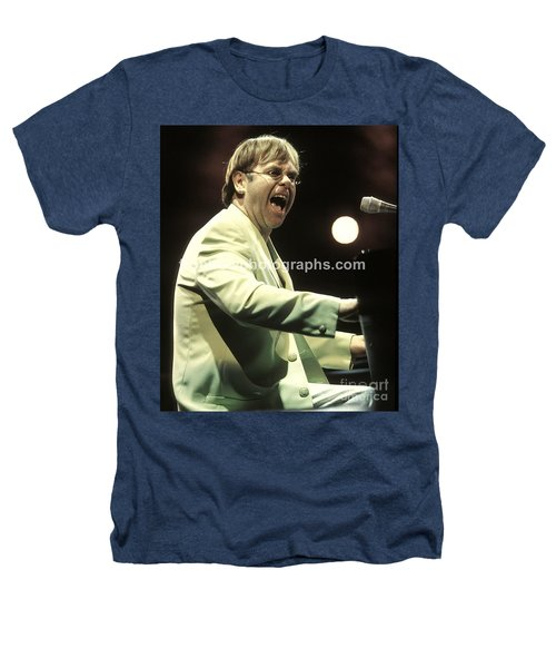 Elton John Heathers T-Shirt by Concert Photos
