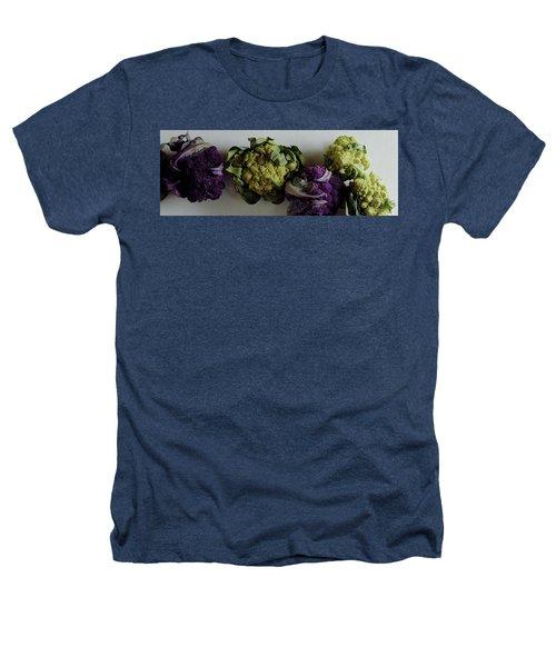A Group Of Cauliflower Heads Heathers T-Shirt