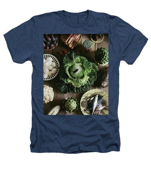 A Mixed Variety Of Food And Ceramic Imitations Heathers T-Shirt