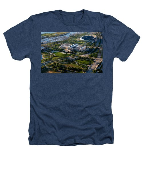 Aerial View Of The Field Museum Heathers T-Shirt