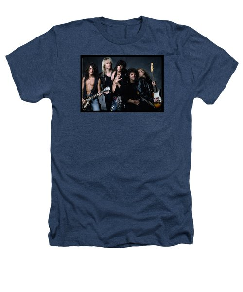 Aerosmith - Let The Music Do The Talking 1980s Heathers T-Shirt by Epic Rights