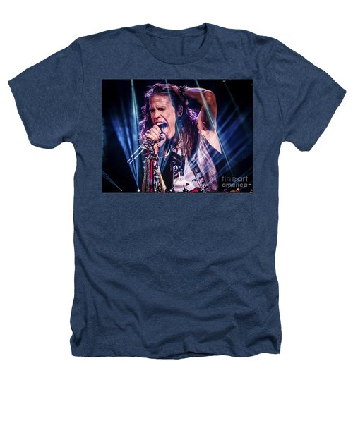 Aerosmith Steven Tyler Singing In Concert Heathers T-Shirt