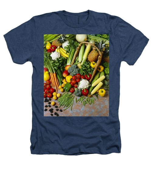 Agriculture - Mixed Fruit Heathers T-Shirt