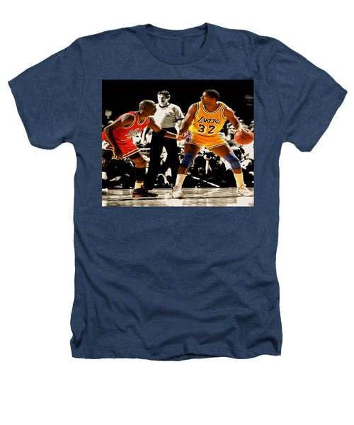 Air Jordan On Magic Heathers T-Shirt by Brian Reaves