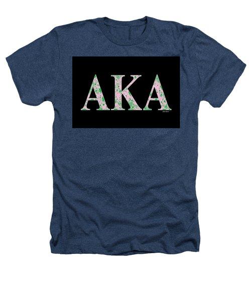 Alpha Kappa Alpha - Black Heathers T-Shirt