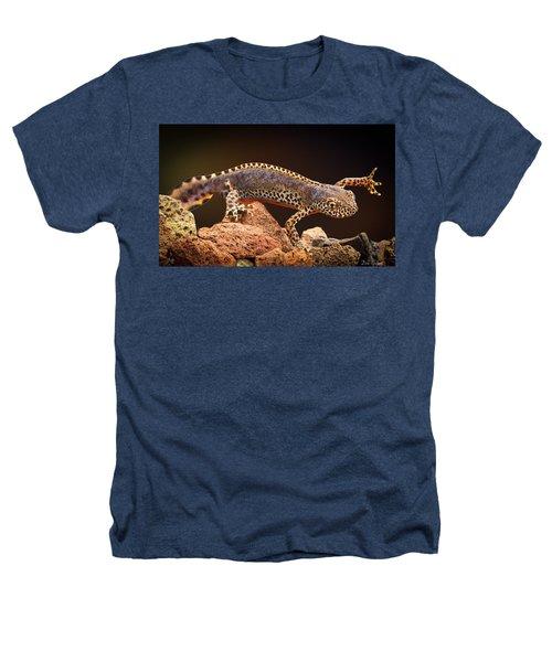 Alpine Newt Heathers T-Shirt by Dirk Ercken