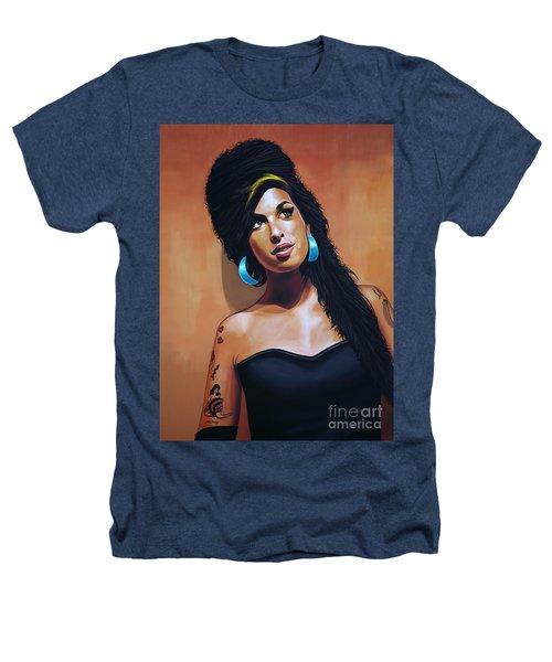 Amy Winehouse Heathers T-Shirt by Paul Meijering