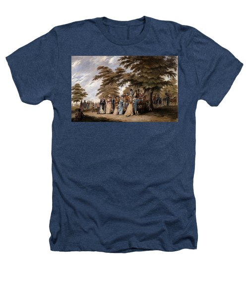 An Airing In Hyde Park, 1796 Heathers T-Shirt by Edward Days