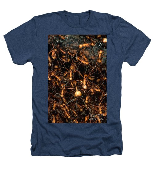 Army Ant Bivouac Site Heathers T-Shirt by Gregory G. Dimijian, M.D.