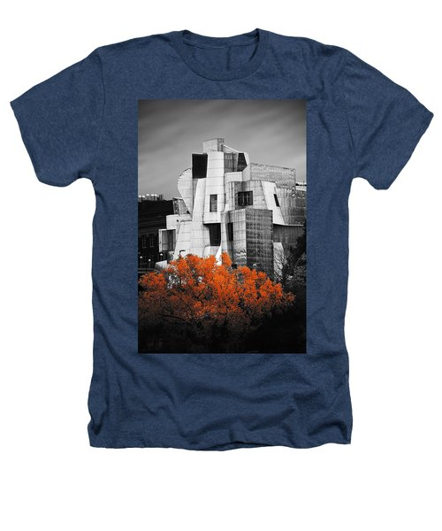 autumn at the Weisman Heathers T-Shirt by Matthew Blum