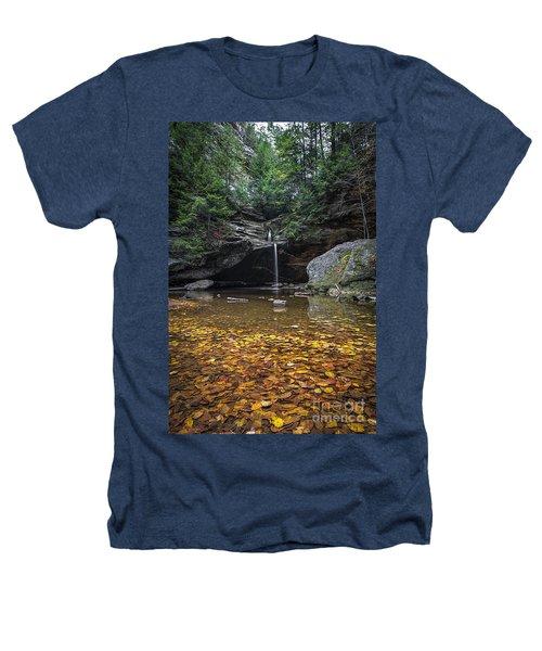 Autumn Falls Heathers T-Shirt by James Dean