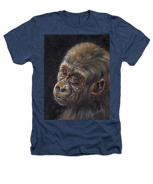 Baby Gorilla Heathers T-Shirt