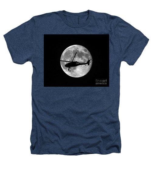 Black Hawk Moon Heathers T-Shirt