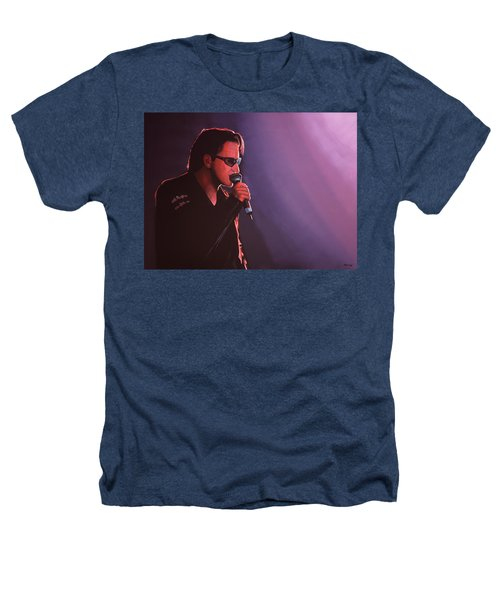 Bono U2 Heathers T-Shirt by Paul Meijering