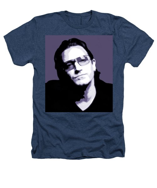Bono Portrait Heathers T-Shirt by Dan Sproul