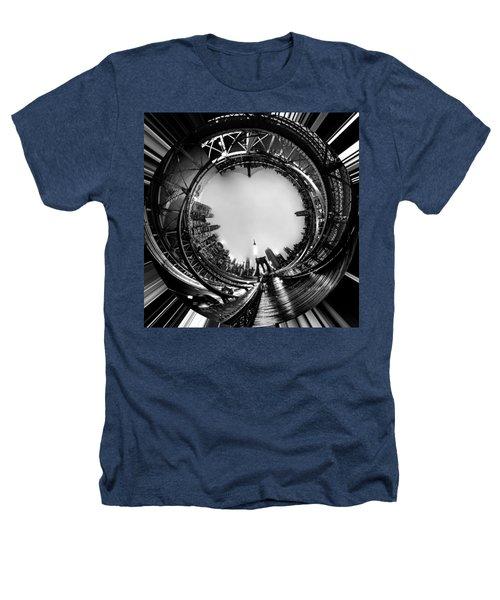 Brooklyn Bridge Circagraph 4 Heathers T-Shirt