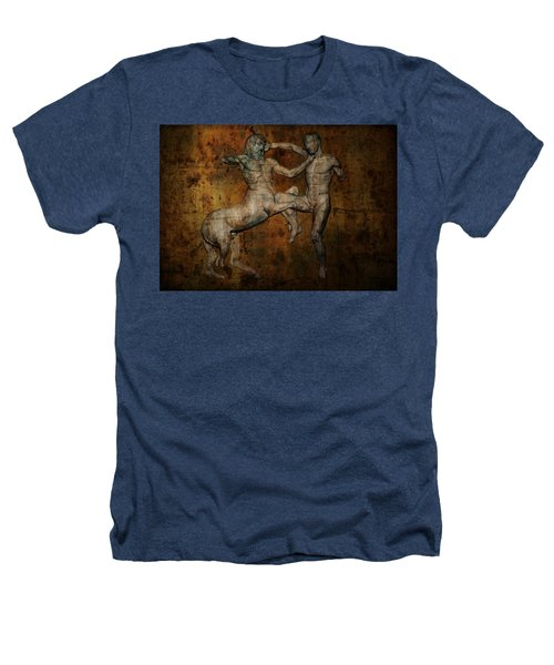 Centaur Vs Lapith Warrior Heathers T-Shirt