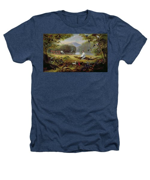 Charles Waterton Capturing A Cayman, 1825-26 Heathers T-Shirt