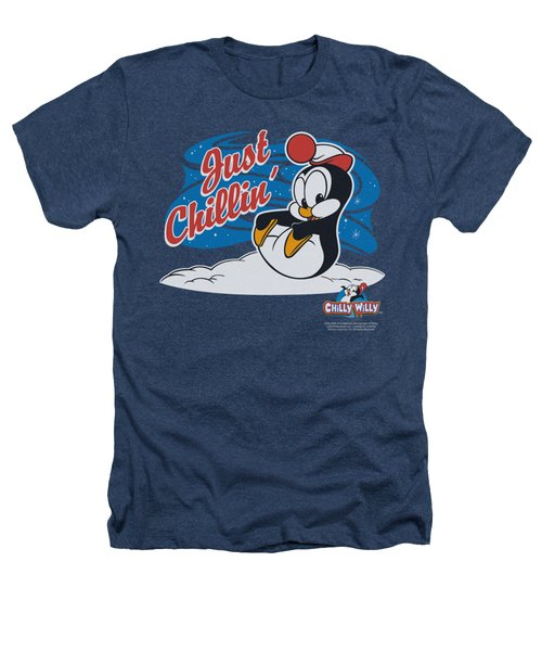 Chilly Willy - Just Chillin Heathers T-Shirt