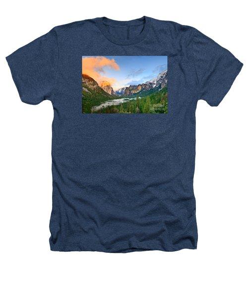 Colors Of Yosemite Heathers T-Shirt by Jamie Pham