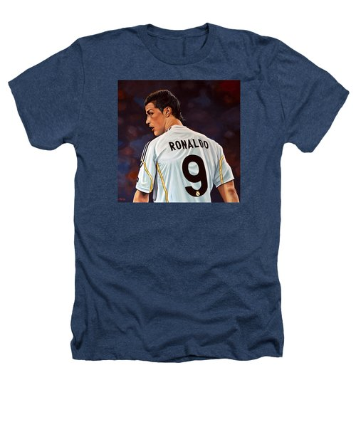Cristiano Ronaldo Heathers T-Shirt by Paul Meijering
