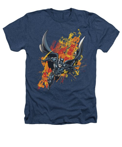 Dark Knight Rises - Fire Rises Heathers T-Shirt