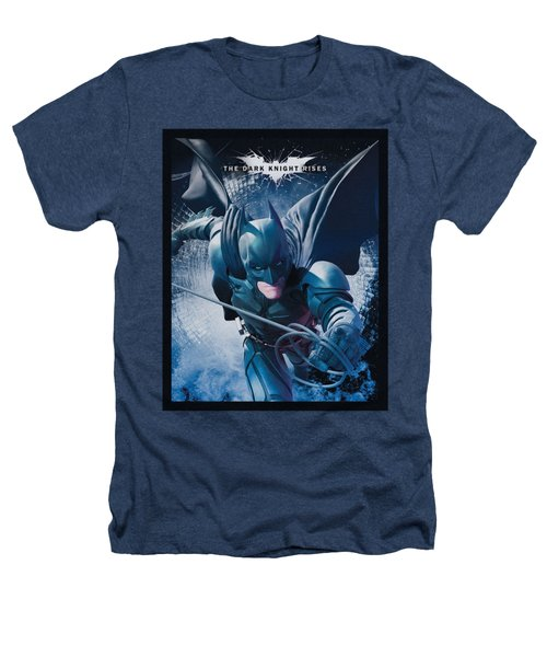 Dark Knight Rises - Swing Into Action Heathers T-Shirt