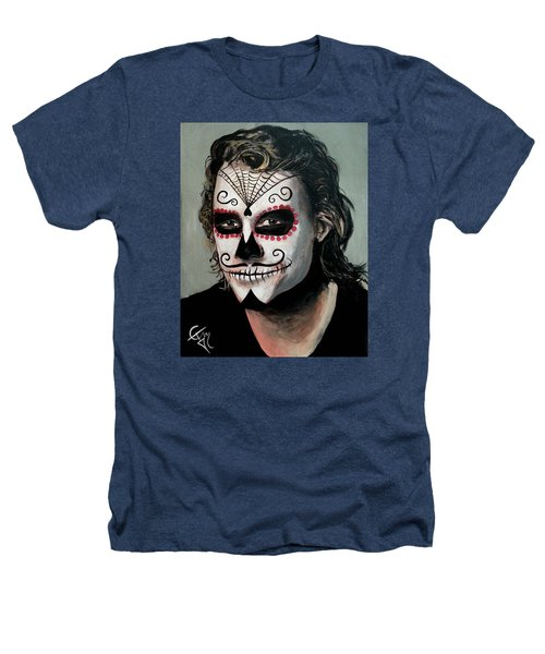 Day Of The Dead - Heath Ledger Heathers T-Shirt by Tom Carlton