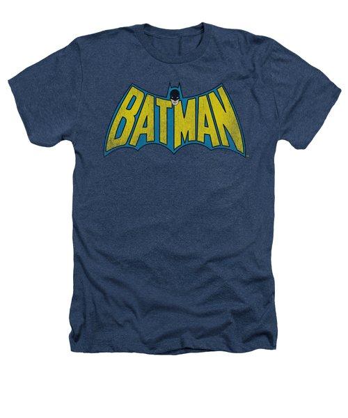 Dc - Classic Batman Logo Heathers T-Shirt
