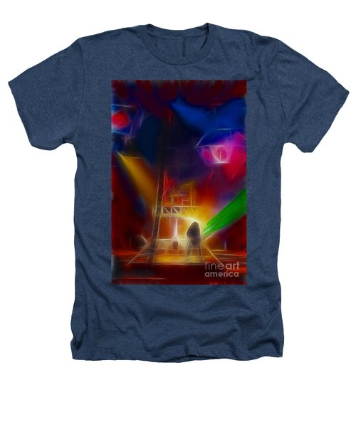 Def Leppard-adrenalize-gf10-fractal Heathers T-Shirt by Gary Gingrich Galleries