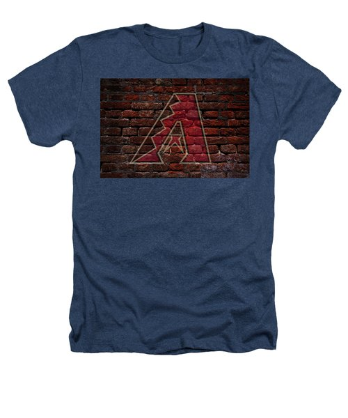 Diamondbacks Baseball Graffiti On Brick  Heathers T-Shirt