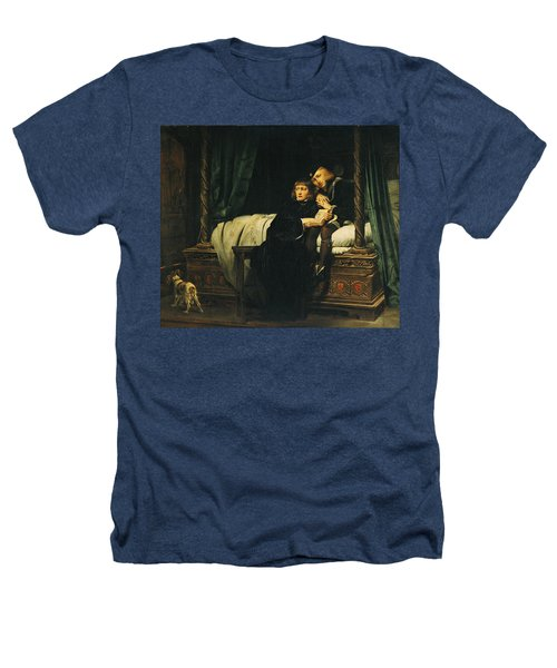 Edward V 1470-83 And Richard, Duke Of York In The Tower Les Enfants Dedouard 1830 Oil On Canvas See Heathers T-Shirt by Hippolyte Delaroche