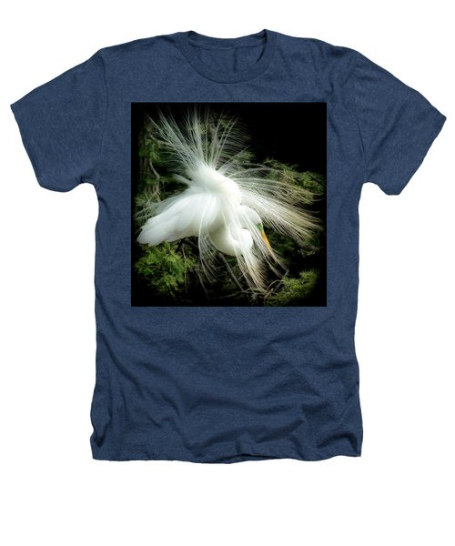 Elegance Of Creation Heathers T-Shirt by Karen Wiles