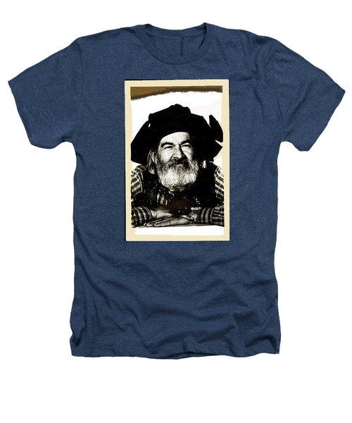 George Hayes Portrait #1 Card Heathers T-Shirt