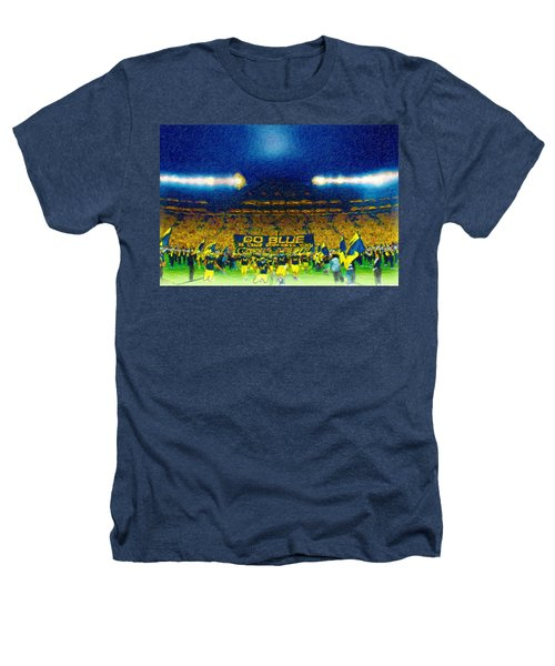 Glory At The Big House Heathers T-Shirt by John Farr