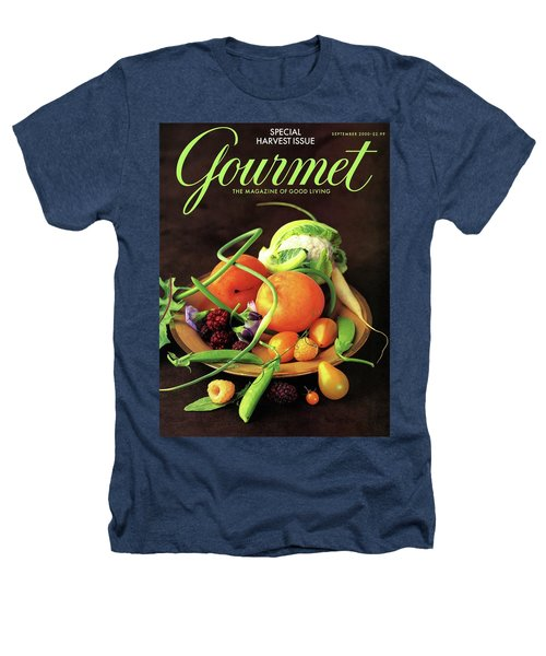 Gourmet Cover Featuring A Variety Of Fruit Heathers T-Shirt