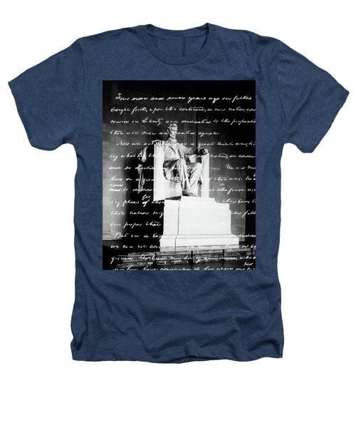 Handwritten Gettysburg Address Heathers T-Shirt