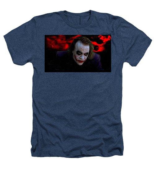 Heath Ledger As Joker Heathers T-Shirt by Image World