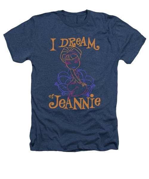 I Dream Of Jeannie - Paint Heathers T-Shirt