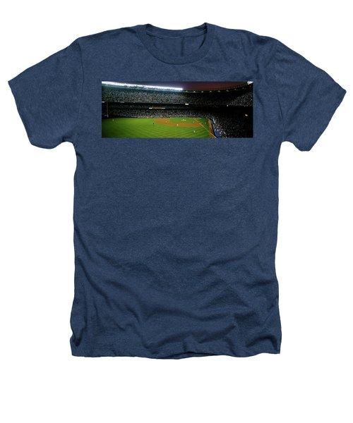 Interiors Of A Stadium, Yankee Stadium Heathers T-Shirt
