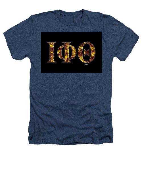Iota Phi Theta - Black Heathers T-Shirt by Stephen Younts