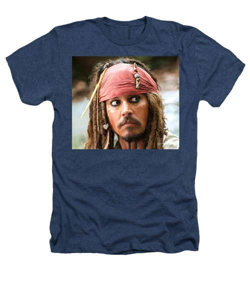 Jack Sparrow Heathers T-Shirt by Paul Tagliamonte