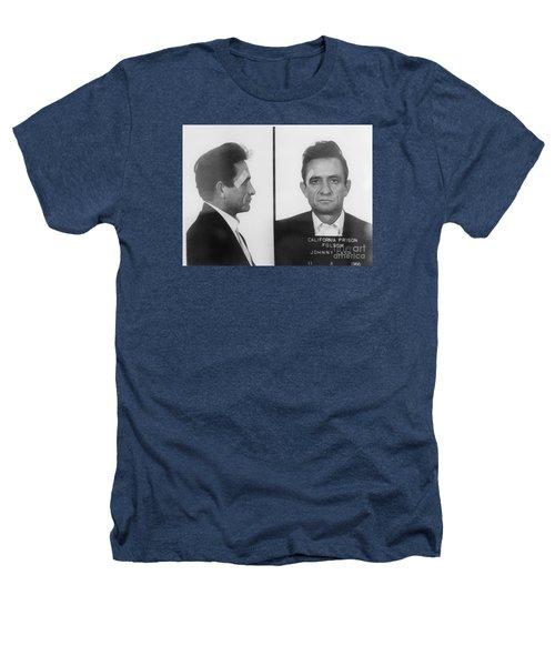 Johnny Cash Folsom Prison Large Canvas Art, Canvas Print, Large Art, Large Wall Decor, Home Decor Heathers T-Shirt