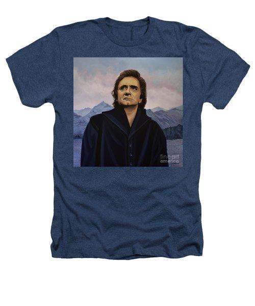 Johnny Cash Painting Heathers T-Shirt