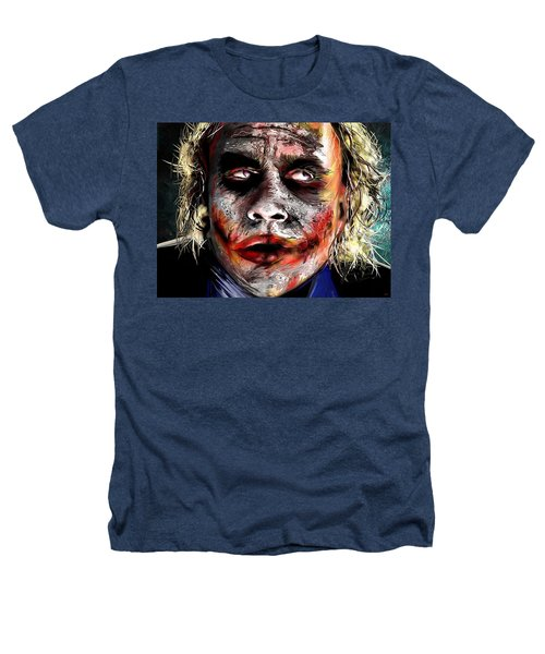 Joker Painting Heathers T-Shirt by Daniel Janda