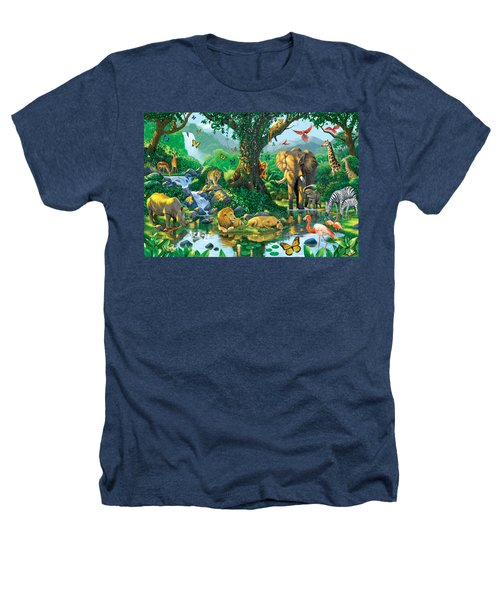 Jungle Harmony Heathers T-Shirt
