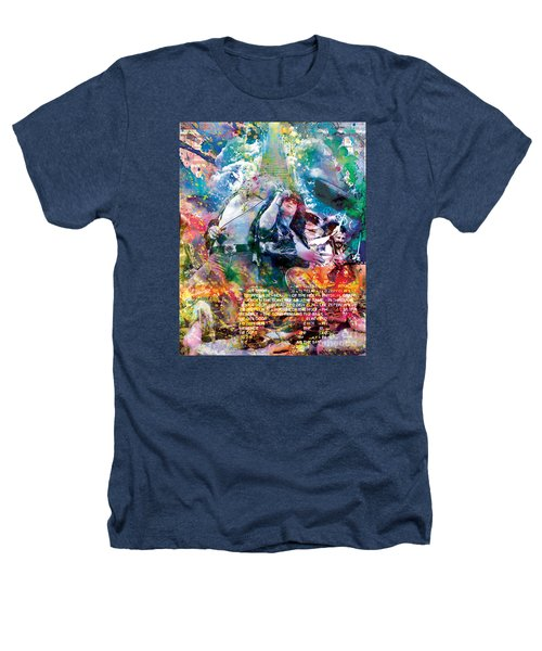 Led Zeppelin Original Painting Print  Heathers T-Shirt