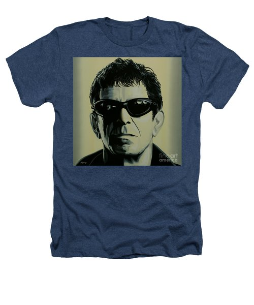 Lou Reed Painting Heathers T-Shirt by Paul Meijering