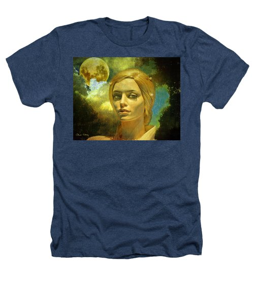 Luna In The Garden Of Evil Heathers T-Shirt by Chuck Staley