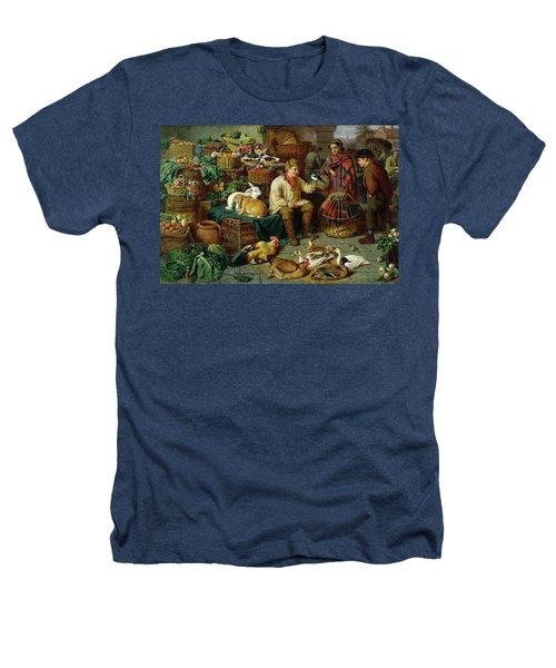 Market Scene Heathers T-Shirt